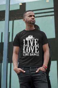 Live Love Line Dance T-Shirt