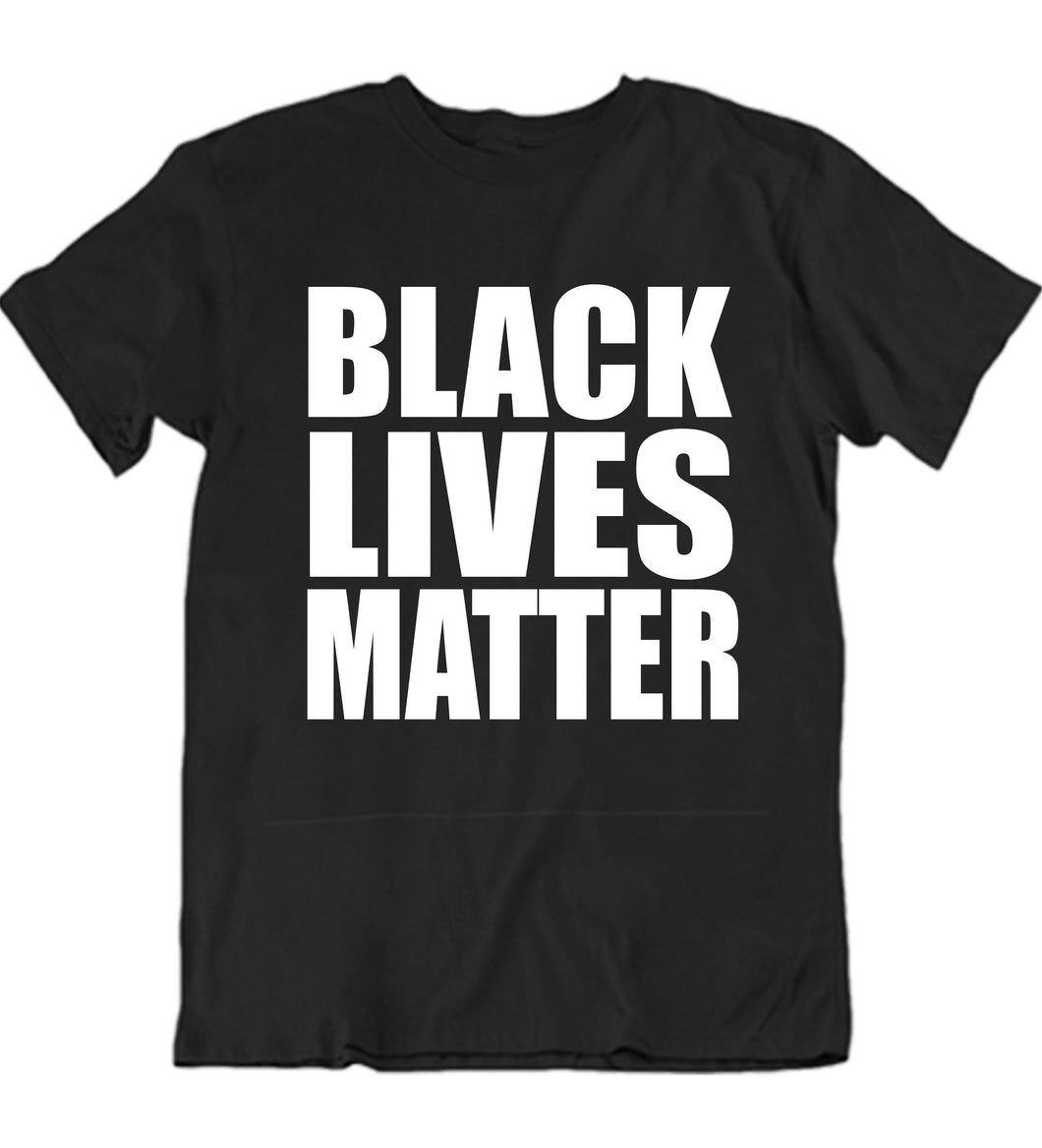 Black Lives Matter V5 Plain Custom T-shirt