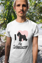 Load image into Gallery viewer, Love My Schnauzer T-Shirt