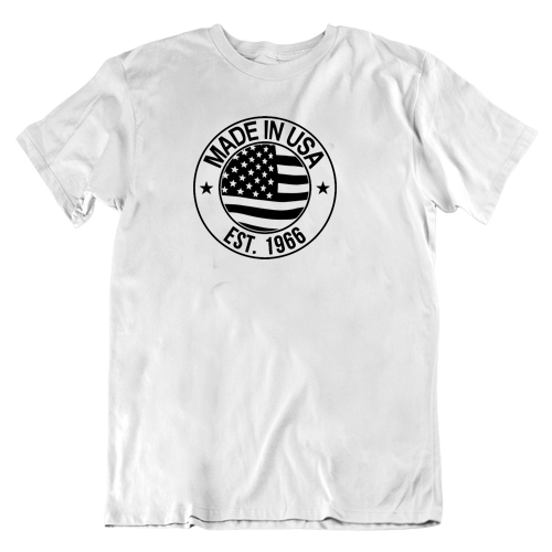 Made in the USA Birthday Shirt 1966