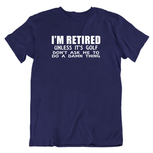 Retired ask for Golf
