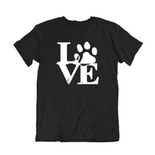 Load image into Gallery viewer, Love Dog Paw Print T-Shirt
