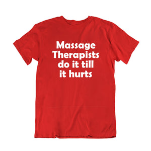 Massage Therapists Hurts