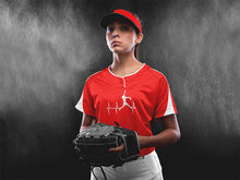 Load image into Gallery viewer, Softball Pitcher Heartbeat