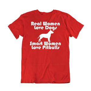 Real Women Love Dog Smart Women pitbulls
