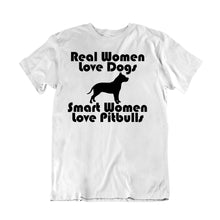Load image into Gallery viewer, Real Women Love Dog Smart Women pitbulls