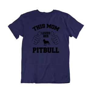 This Mom Loves Her Pitbull