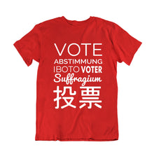 Load image into Gallery viewer, Vote Abstimmung Iboto Voter Custom T-shirt