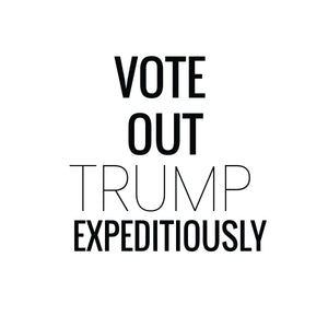 Vote Out Trump Custom T-shirt