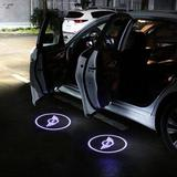 Universal Wireless Car Projection LED Projector Door Shadow Light - SlickDecor.com