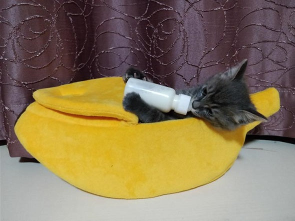 Banana Cave Pets Bed - SlickDecor.com