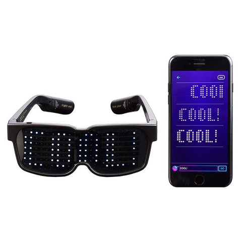 Image of Customizable Quick Flash Rechargeable Luminous LED Light Glasses