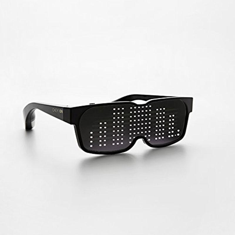 Customizable Quick Flash Rechargeable Luminous LED Light Glasses