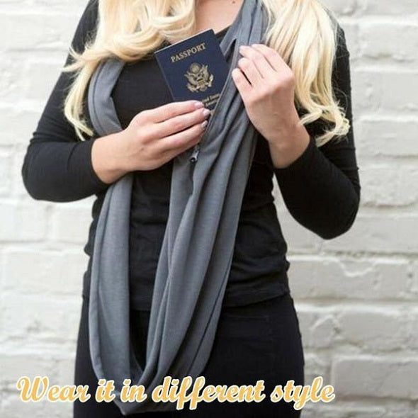 Convertible Pocket Scarf - SlickDecor.com
