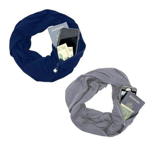 Image of Convertible Pocket Scarf - SlickDecor.com