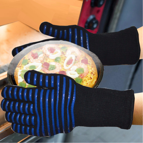 Image of Extreme Heat Resistant BBQ Fireproof Gloves - SlickDecor.com