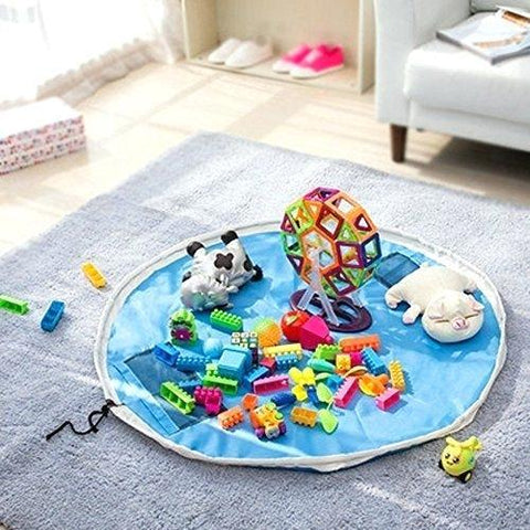 Image of Giggles - Play Mat, Lego Organizer & Toy Storage Bag