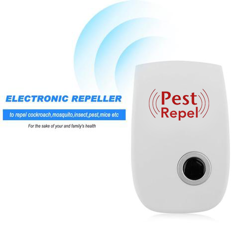 ENHANCED ULTRA-SONIC INSECTS, RODENT PEST REPELLENT (1,600 SQ. FT. RADIUS) - SlickDecor.com