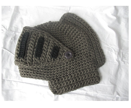WINTER WARM MEN ROMAN KNIGHT HELMET CAPS, HANDMADE! - SlickDecor.com