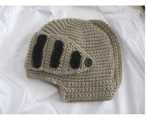 Image of WINTER WARM MEN ROMAN KNIGHT HELMET CAPS, HANDMADE! - SlickDecor.com