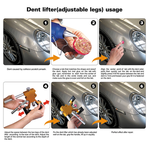PAINTLESS DENT REPAIR TOOLS