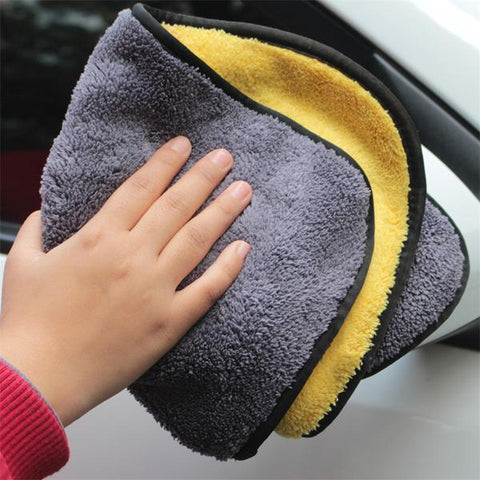 Image of Super Absorbent Car Wash Microfiber Cloth