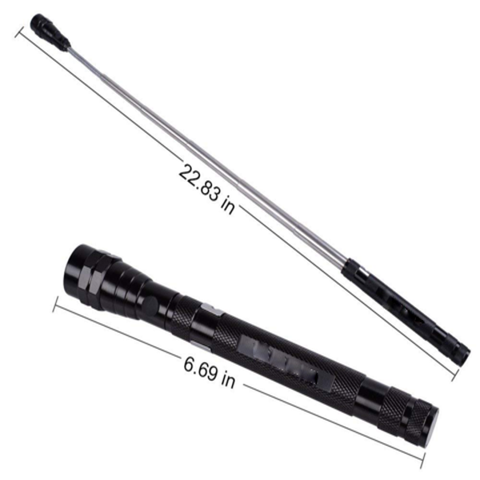 Image of Telescopic Flexible Magnetic Flashlight