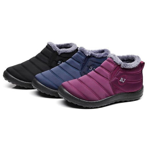 Image of Soft Sole Warm Ankle Boots - SlickDecor.com