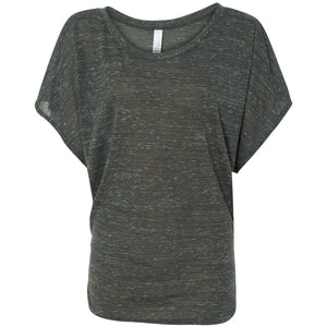 Charcoal Marble Dolman Top