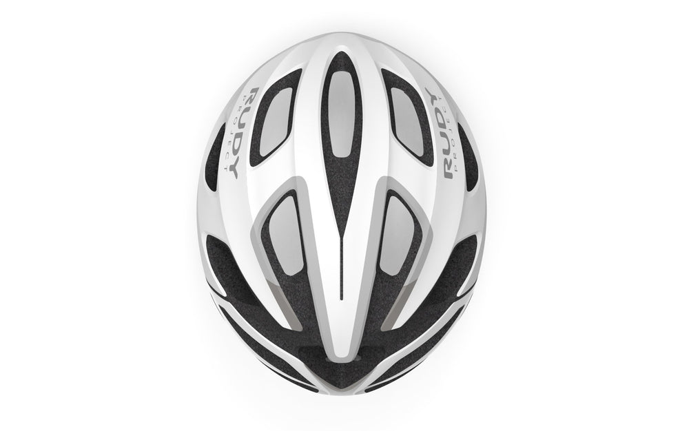 Rudy Project Strym Cycle Helmet White Matte Small-Medium 54-58cm - Rudy Project