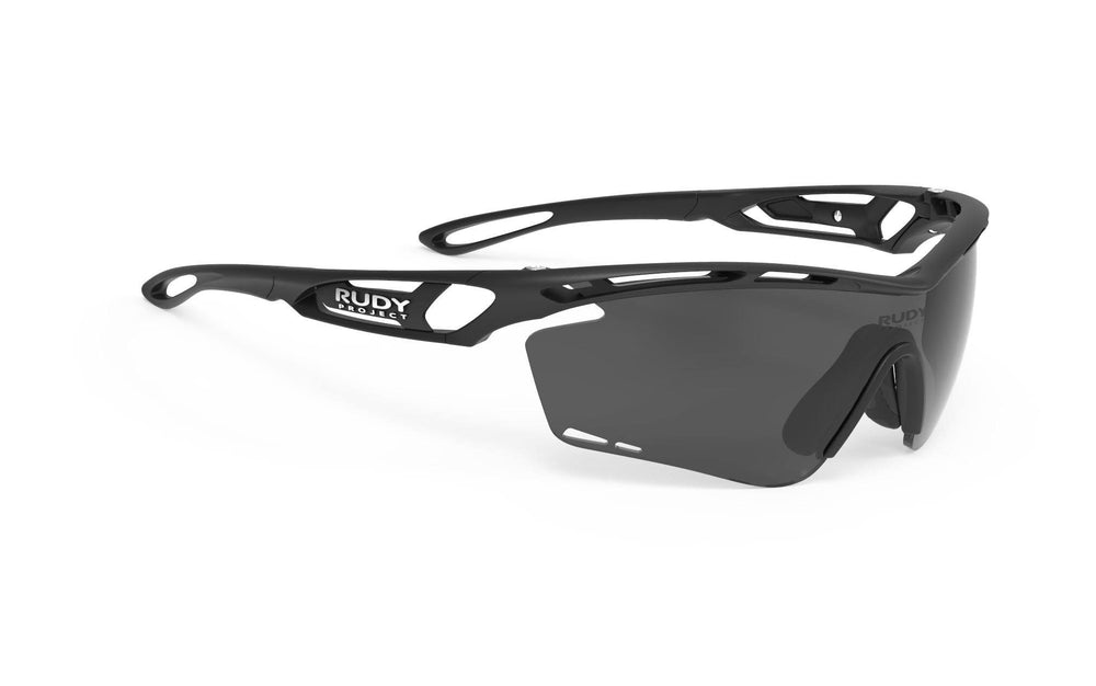 Rudy Project Tralyx Matte Black Polarized 3FX Grey Lenses - Rudy Project