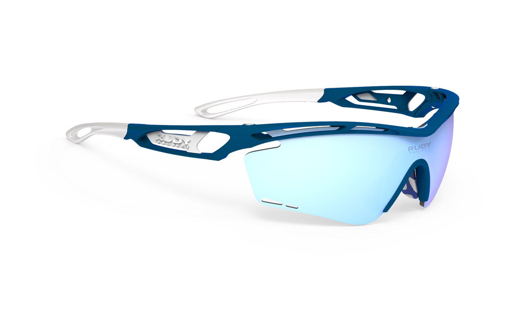 Rudy Project Tralyx Blue Metal Multi Laser Ice Lenses - Rudy Project