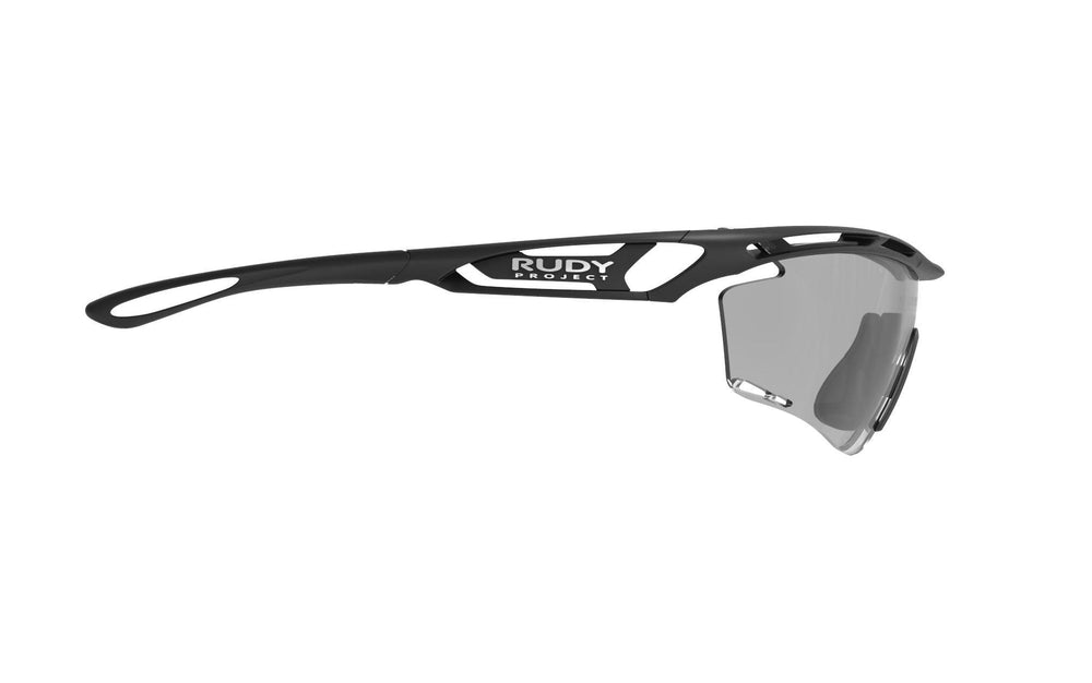 Rudy Project Tralyx Matte Black Photochromic Black Lenses - Rudy Project