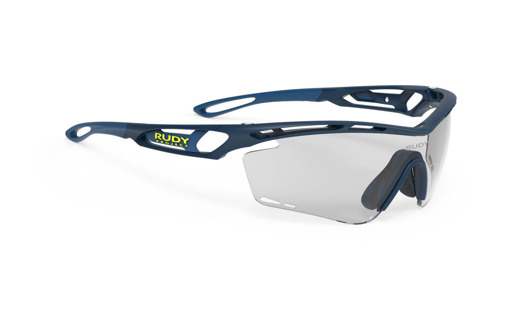 Rudy Project Tralyx Blue Matte Photochromic Black Lenses - Rudy Project