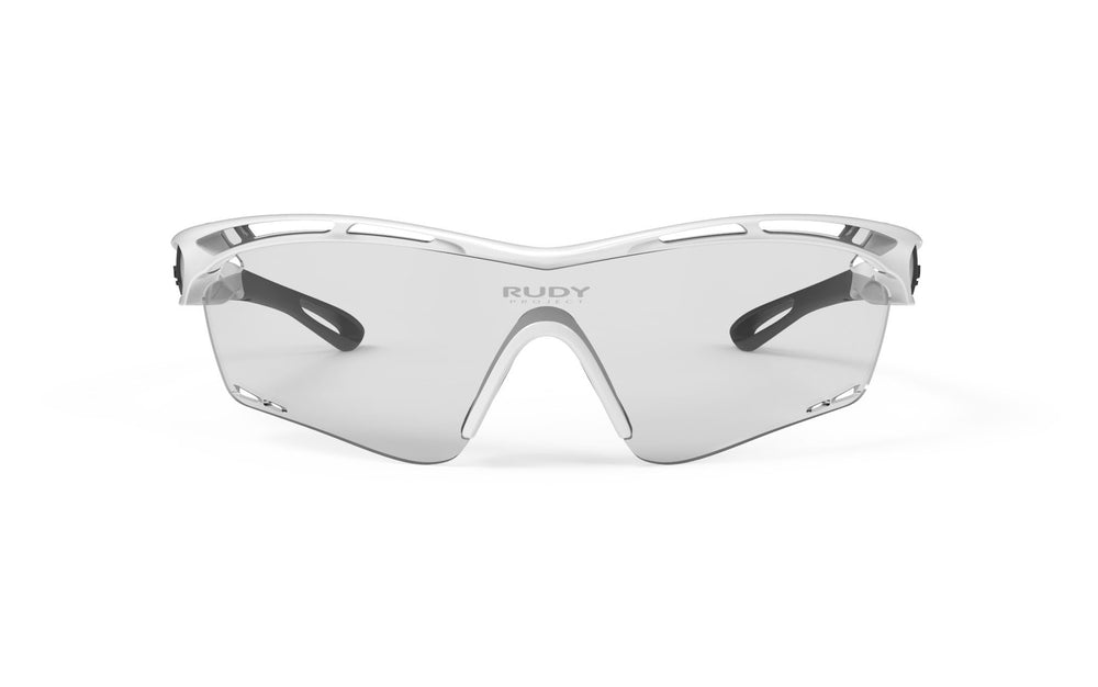 Rudy Project Tralyx White Gloss Photochromic Black Lenses - Rudy Project