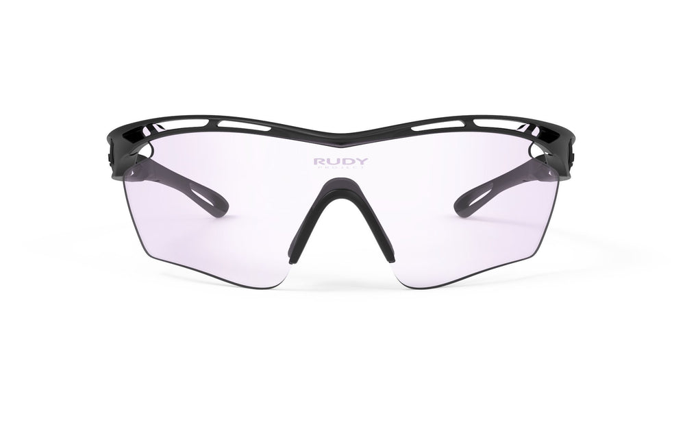 Rudy Project Tralyx Golf Matte Black Photochromic Laser Purple Lenses