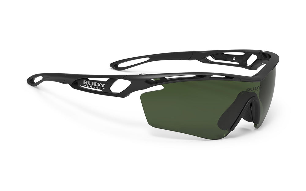 Rudy Project Tralyx Matte Black Photochromic Golf Green Lenses