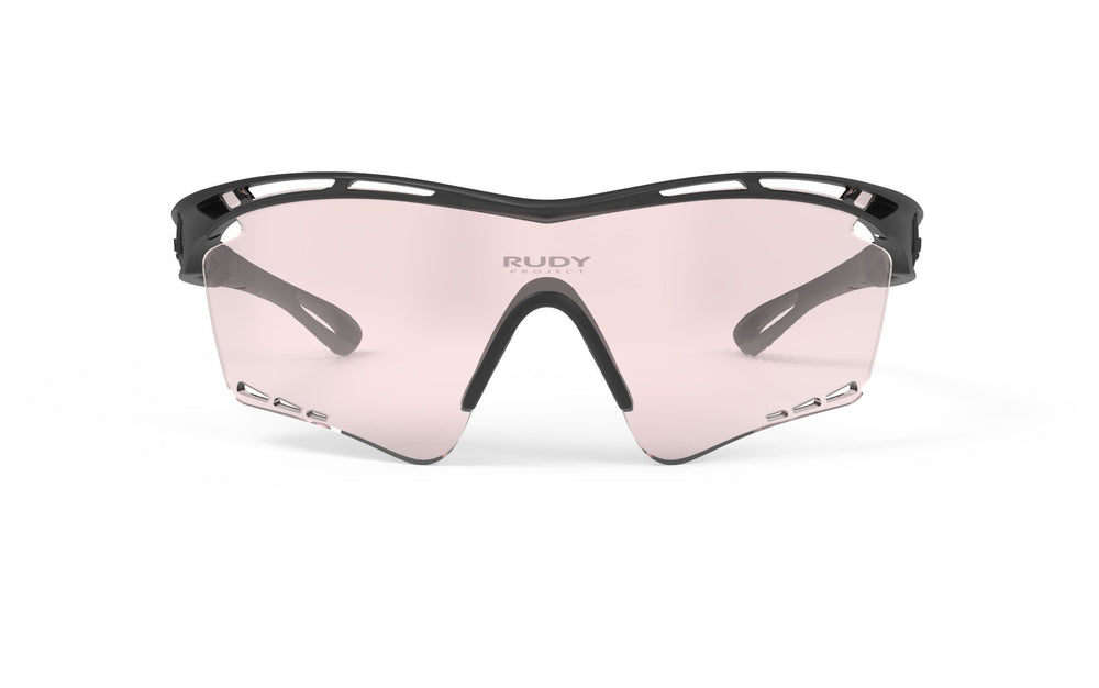 Rudy Project Tralyx XL Matte Black Photochromic Laser Red Lenses
