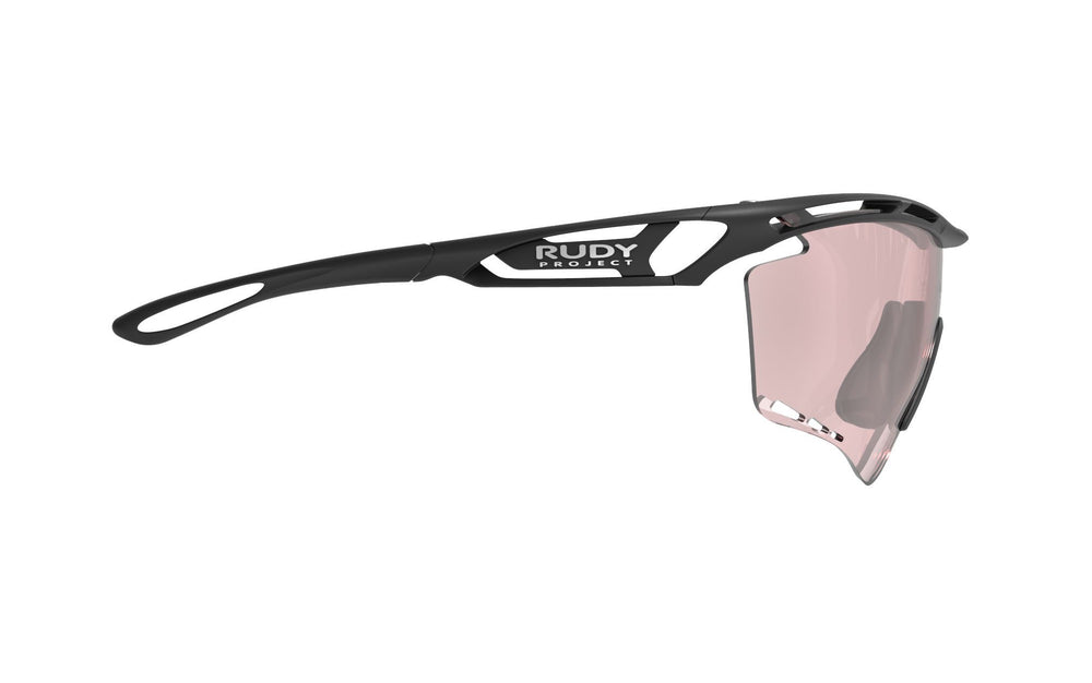 Rudy Project Tralyx XL Matte Black Photochromic Laser Red Lenses - Rudy Project