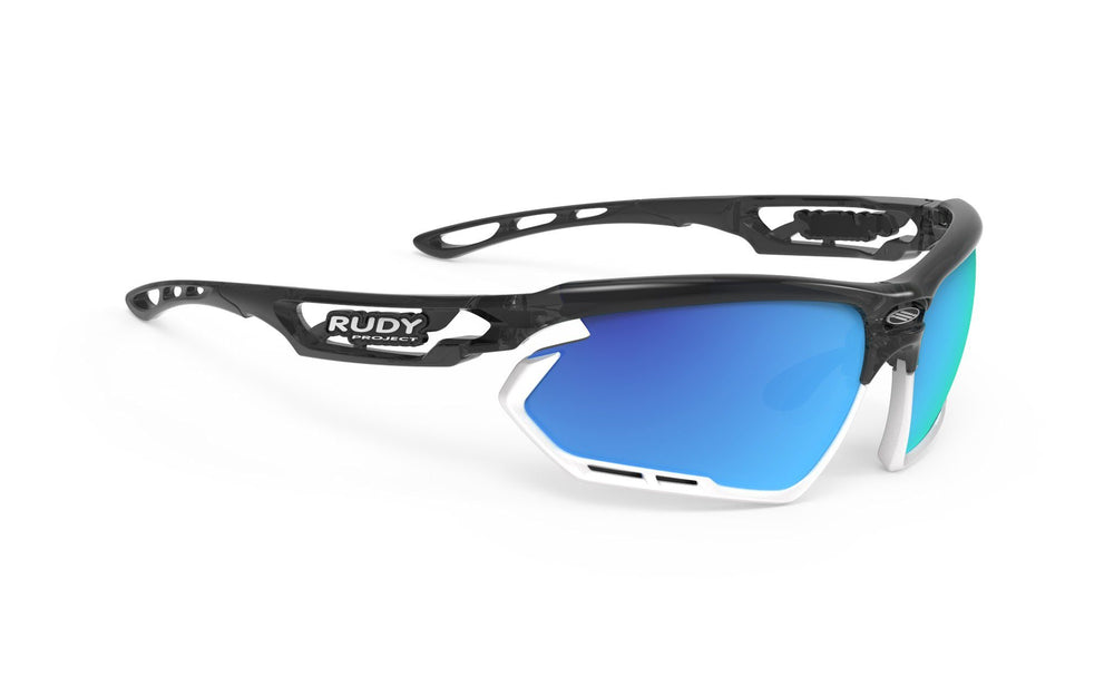 Rudy Project Fotonyk Crystal Graphite Multi Laser Blue Lenses - Rudy Project