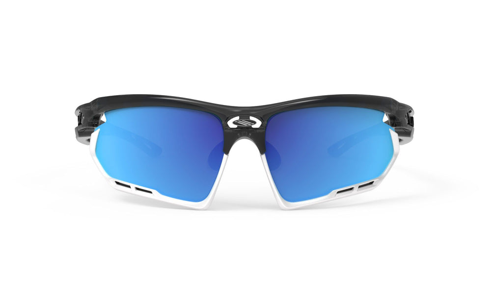 Rudy Project Fotonyk Crystal Graphite Multi Laser Blue Lenses