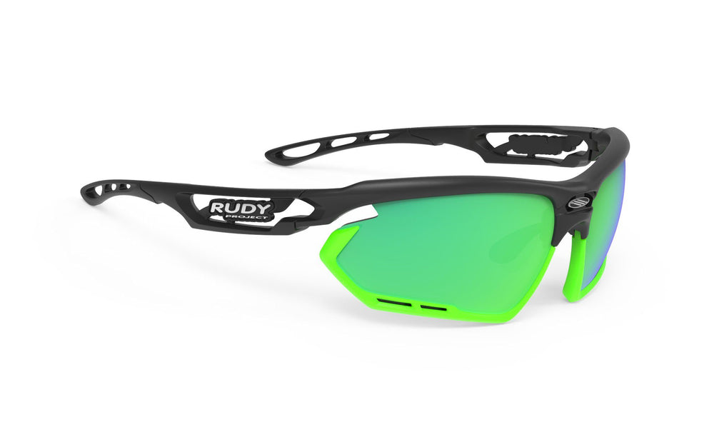 Rudy Project Fotonyk Black Matte Polarized 3FX Green Lenses - Rudy Project