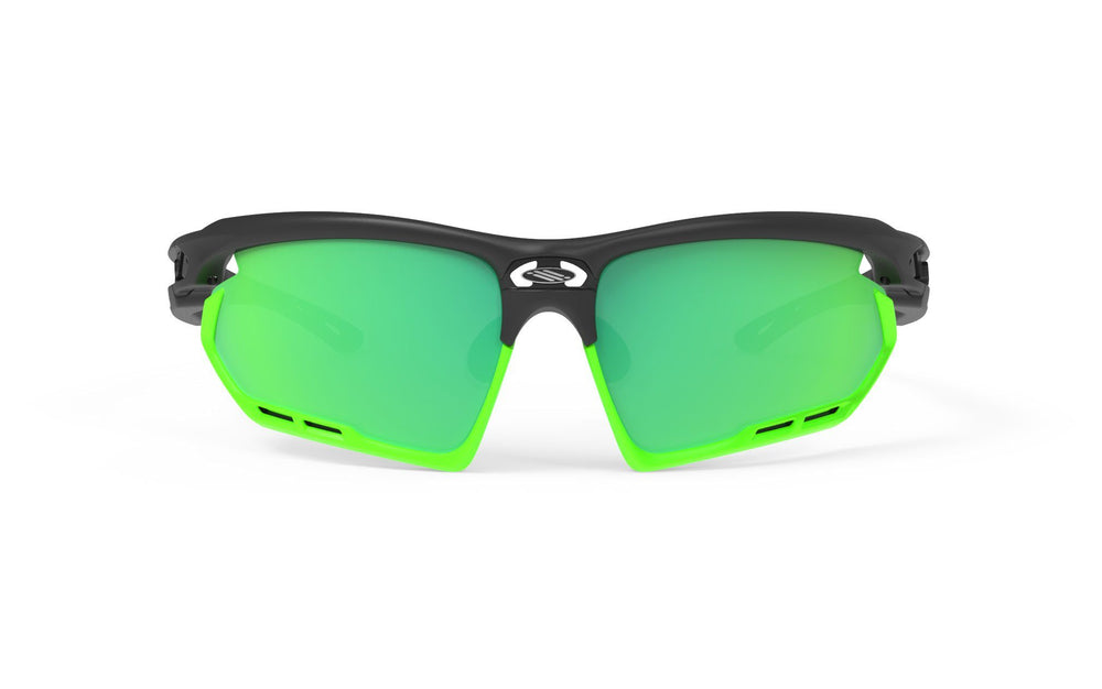Rudy Project Fotonyk Black Matte Polarized 3FX Green Lenses