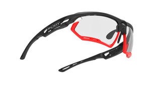 Rudy Project Fotonyk Matte Black Photochromic Black Lenses - Rudy Project