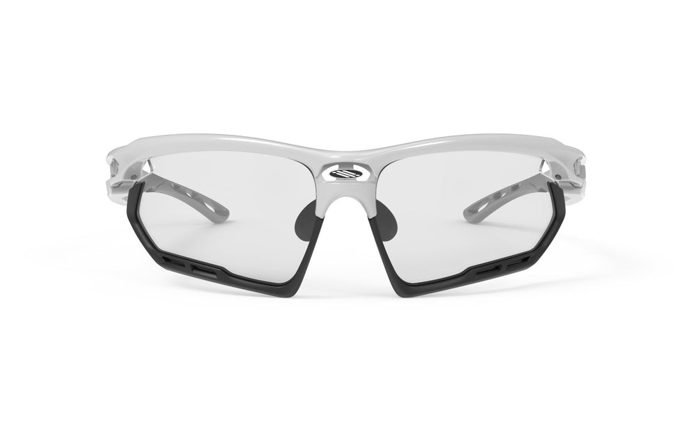 Rudy Project Fotonyk White Gloss Photochromic Black Lenses
