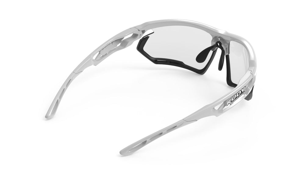 Rudy Project Fotonyk White Gloss Photochromic Black Lenses - Rudy Project
