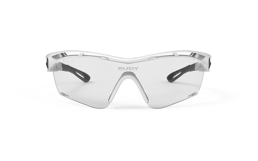 Rudy Project Tralyx Slim White Gloss Photochromic Black Lenses