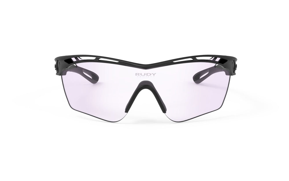Rudy Project Tralyx Slim Golf Matte Black Photochromic Laser Purple Lenses