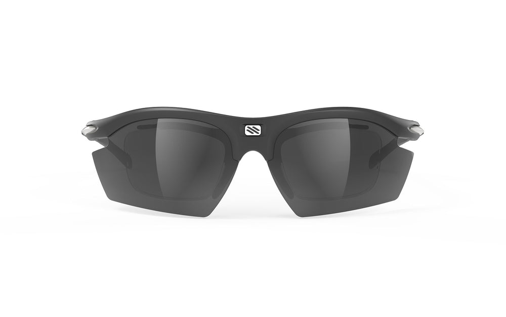 Rudy Project Rydon Black Smoke Black Lens Prescription Clip Package Sunglasses Rudy Project