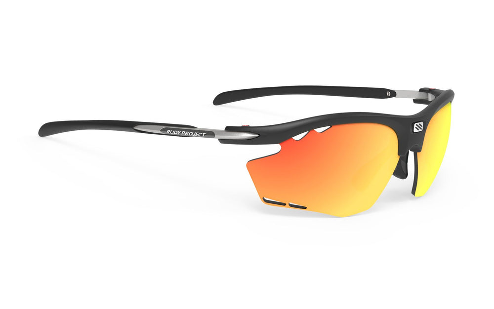 Rudy Project Rydon Running Matte Black Multi Laser Orange Lens - Rudy Project